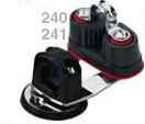 Harken cam cleat on swivel bast